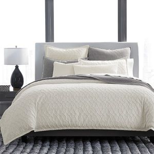 Hotel Collection Interlock King Comforter Cover